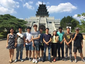 During Workshop whole Lab visits the National Museum of Korea (Aug 04, 2016)
