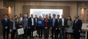 Prof. Shuping Xiong gave presentation to the Swiss delegation in KAIST