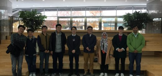 Research meeting with Prof. OS Kwon from UNIST