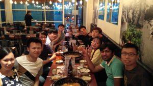 Dinner after Workshop in Seoul (Aug 04, 2016)